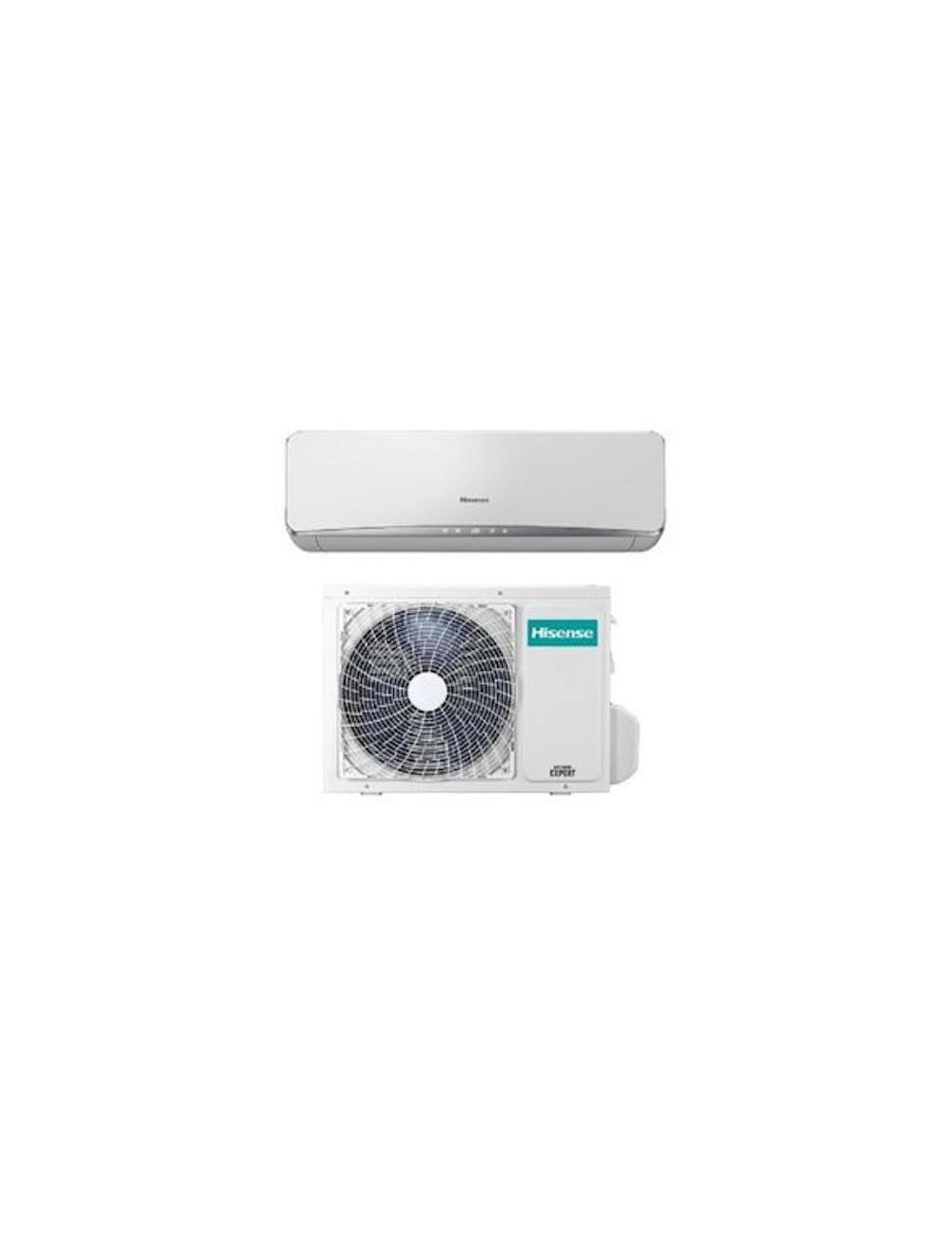 CLIMATIZZATORE CONDIZIONATORE 9000 BTU 2,6 kW HISENSE NEW EASY INVERTER A++ MONOSPLIT A PARETE TE25YD02G