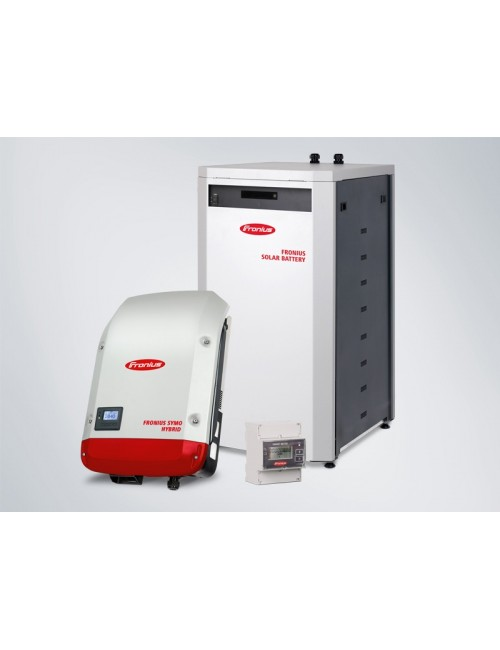 KIT ACCUMULO FOTOVOLTAICO 4,5 KWH FRONIUS ENERGY PACKAGE TRIFASE CON BATTERIA DA 4,5 KWH, INVERTER ED ENERGY METER