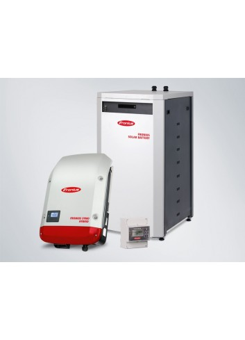 KIT ACCUMULO FOTOVOLTAICO 9 KWH FRONIUS ENERGY PACKAGE TRIFASE CON BATTERIA DA 9 KWH, INVERTER ED ENERGY METER