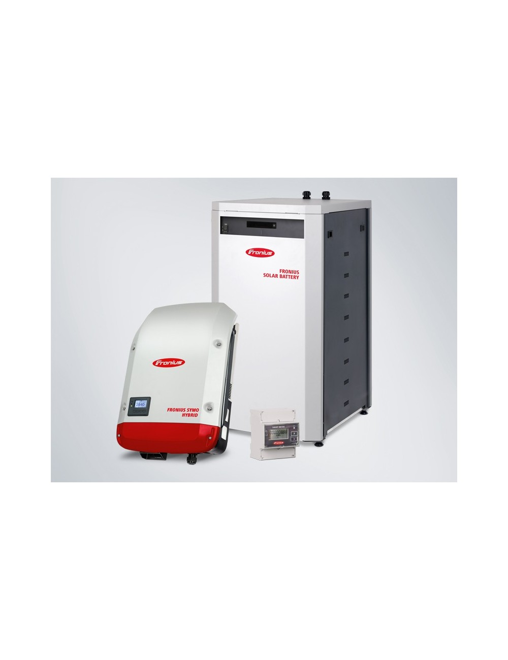 KIT ACCUMULO FOTOVOLTAICO 12 KWH FRONIUS ENERGY PACKAGE TRIFASE CON BATTERIA DA 12 KWH, INVERTER ED ENERGY METER