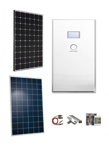 KIT FOTOVOLTAICO 4,5 KW CON ACCUMULO SONNEN BATTERIE HYBRID 5 KWH