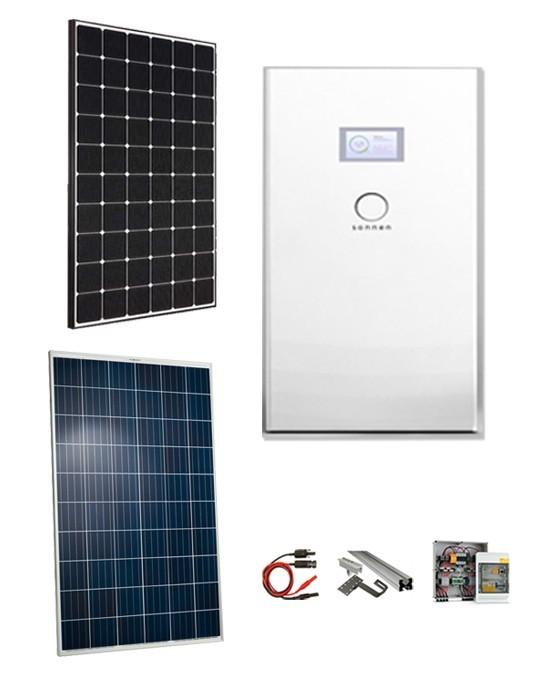 Kit Fotovoltaico 4 5 Kw Con Accumulo Sonnenbatterie Hybrid 9 53 5