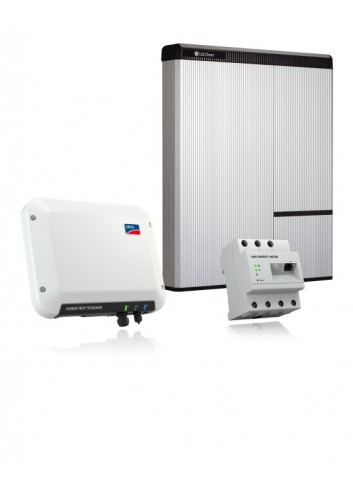 BATTERIA ACCUMULO LG CHEM RESU10H AC DLT DA 9,8 KWH KIT RETROFIT CON INVERTER SMA SUNNY BOY STORAGE 2.5 ED ENERGY METER