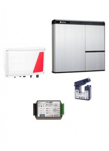 KIT ACCUMULO FOTOVOLTAICO LG-SOLAREDGE CON BATTERIA 7 KWH AC LG CHEM RESU7H DLT E INTERFACCIA HIGH POWER STOREDGE SESTI-01