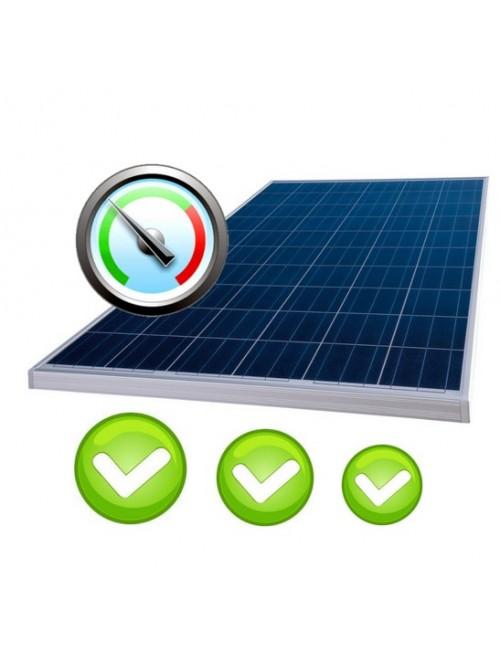 Check-up impianto fotovoltaico. Verifica contabile e amministrativa con analisi della produzione
