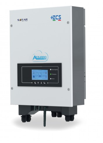 Inverter Ibrido 4 kW ZCS Azzurro HYD 4000-ES Monofase per Fotovoltaico