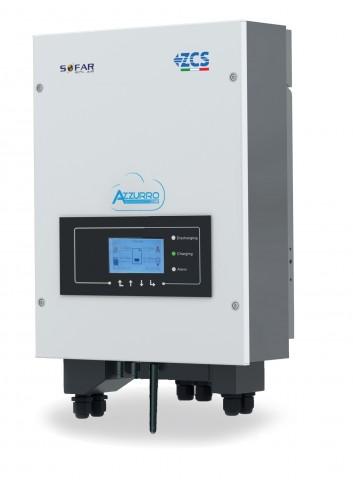 Inverter Ibrido 6 kW ZCS Azzurro HYD 6000-ES Monofase per Fotovoltaico