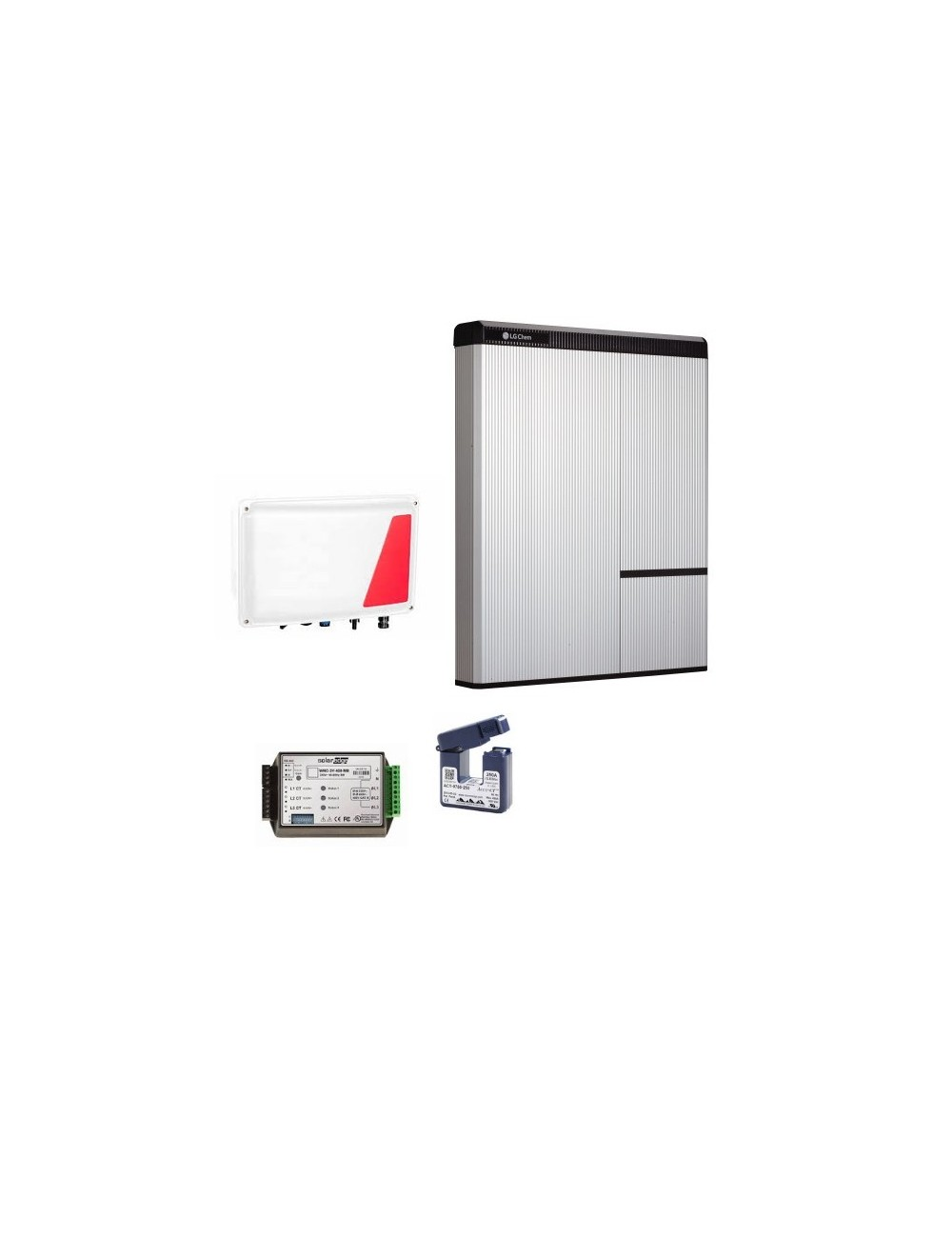 Kit Accumulo Fotovoltaico Retrofit LG Chem 9,8 kWh e Interfaccia Storedge SESTI-04