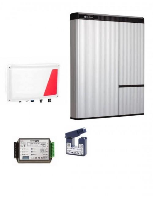 Kit Accumulo Fotovoltaico Retrofit LG Chem 9,8 kWh e Interfaccia Storedge SESTI-04