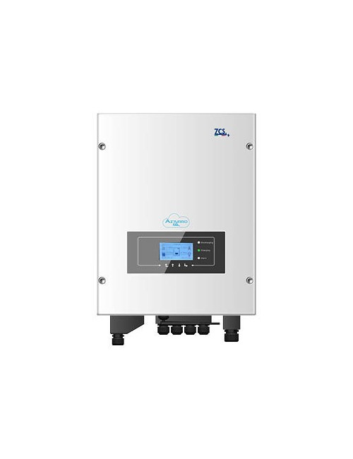 Inverter Ibrido ZCS Azzurro HYD 5000-ES, predisposto per l'aggiunta di una batteria