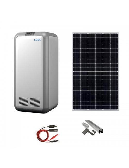 Impianto Fotovoltaico 4 kW con Sistema di Accumulo SENEC da 5 kWh con batteria a ioni di litio e inverter integrato