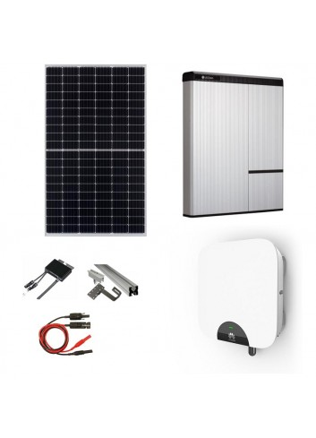 Kit Fotovoltaico 5 kWp con Batteria d'Accumulo LG Chem 9,8 kWh 400V AC RESU10H e Inverter Ibrido 5 kW Huawei SUN 2000-5KTL