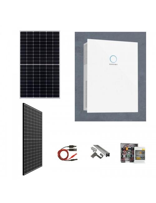 Kit Fotovoltaico 3 KW con Accumulo Sonnen Batterie Hybrid 9.53/2,5 kWh con Inverter Integrato