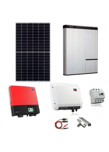 Kit Fotovoltaico 6 kW con Batteria d'Accumulo LG Chem 10 kWh 400V AC RESU10H e Inverter SMA Sunny Boy Storage 2.5 e Energy Meter