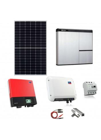Kit Fotovoltaico 6 kW con Batteria d'Accumulo LG Chem 7 kWh 400V AC RESU7H e Inverter SMA Sunny Boy Storage 2.5 con Energy Meter