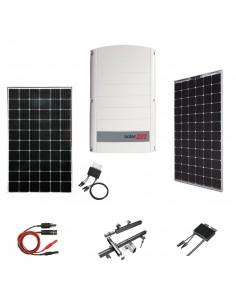 Kit Fotovoltaico 20 kW SolarEdge Trifase con Pannelli SolarEdge, Inverter SolarEdge, Ottimizzatori, Strutture e Accessori