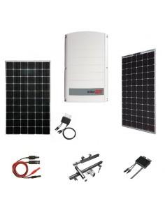Kit Fotovoltaico 10 kW SolarEdge Trifase con Pannelli SolarEdge, Inverter SolarEdge, Ottimizzatori, Strutture e Accessori