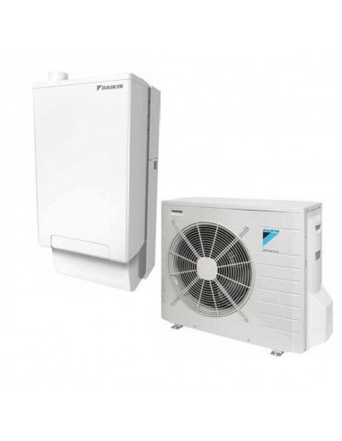 Pompa di Calore Ibrida Daikin HPU Hybrid con Caldaia a Condensazione 33 kW e Unità Esterna 8 kW Riscaldamento e Raffrescamento