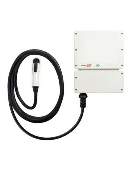 Inverter 6 kW SolarEdge EV Charging SE6000H-RW000BNV4 Monofase con Caricatore per Auto Elettriche